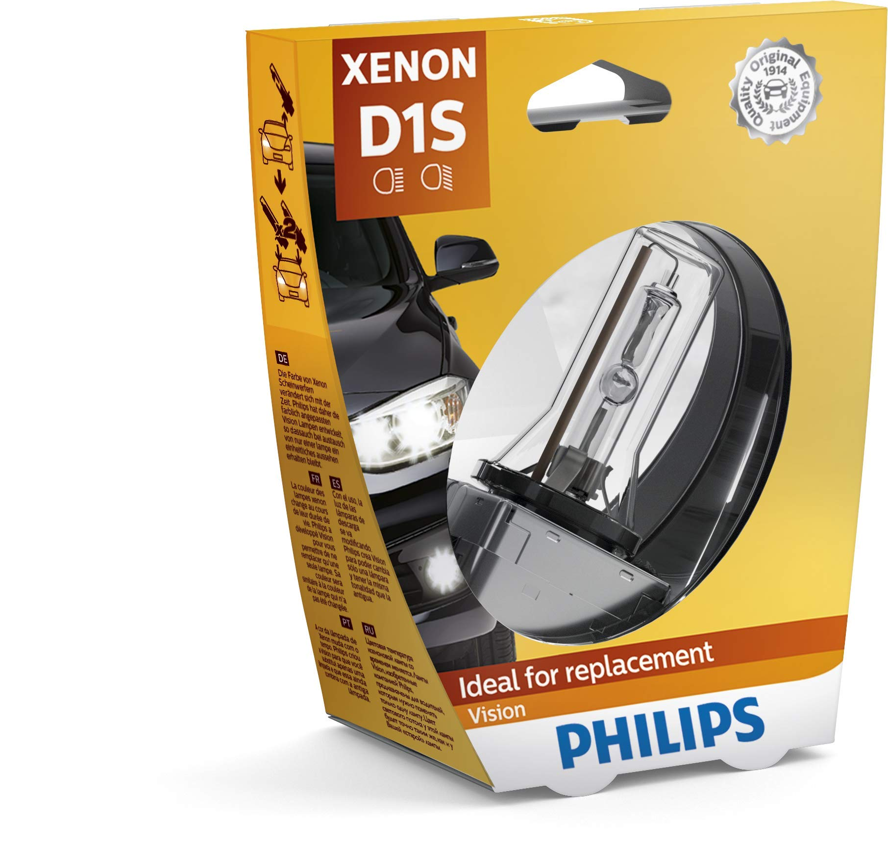 Philips 85415VIS1 Xenon Vision D1S, 1-er Blister von Philips automotive lighting