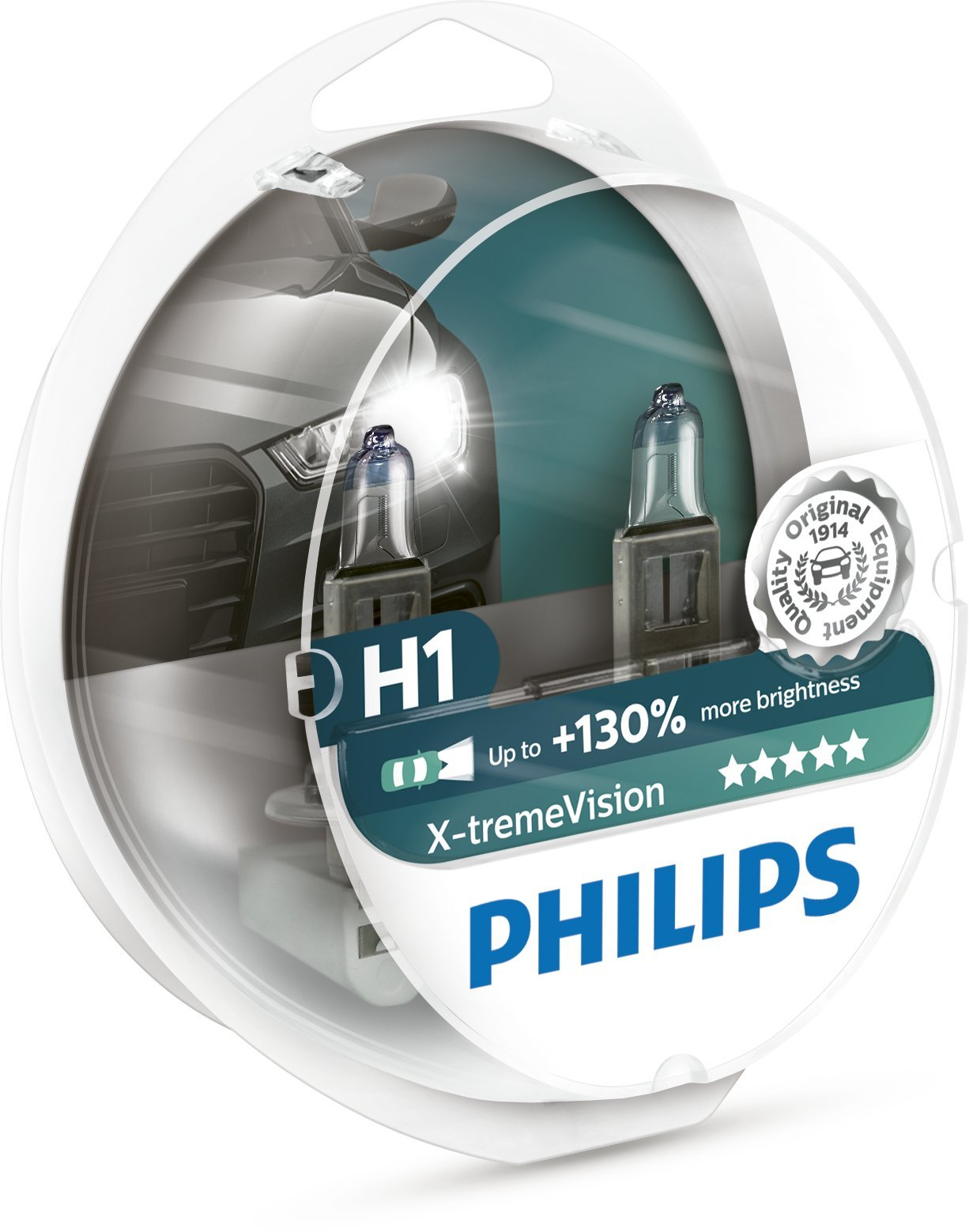 Philips 12258XV+S2 X-tremeVision +130% H1 Scheinwerferlampe von Philips automotive lighting