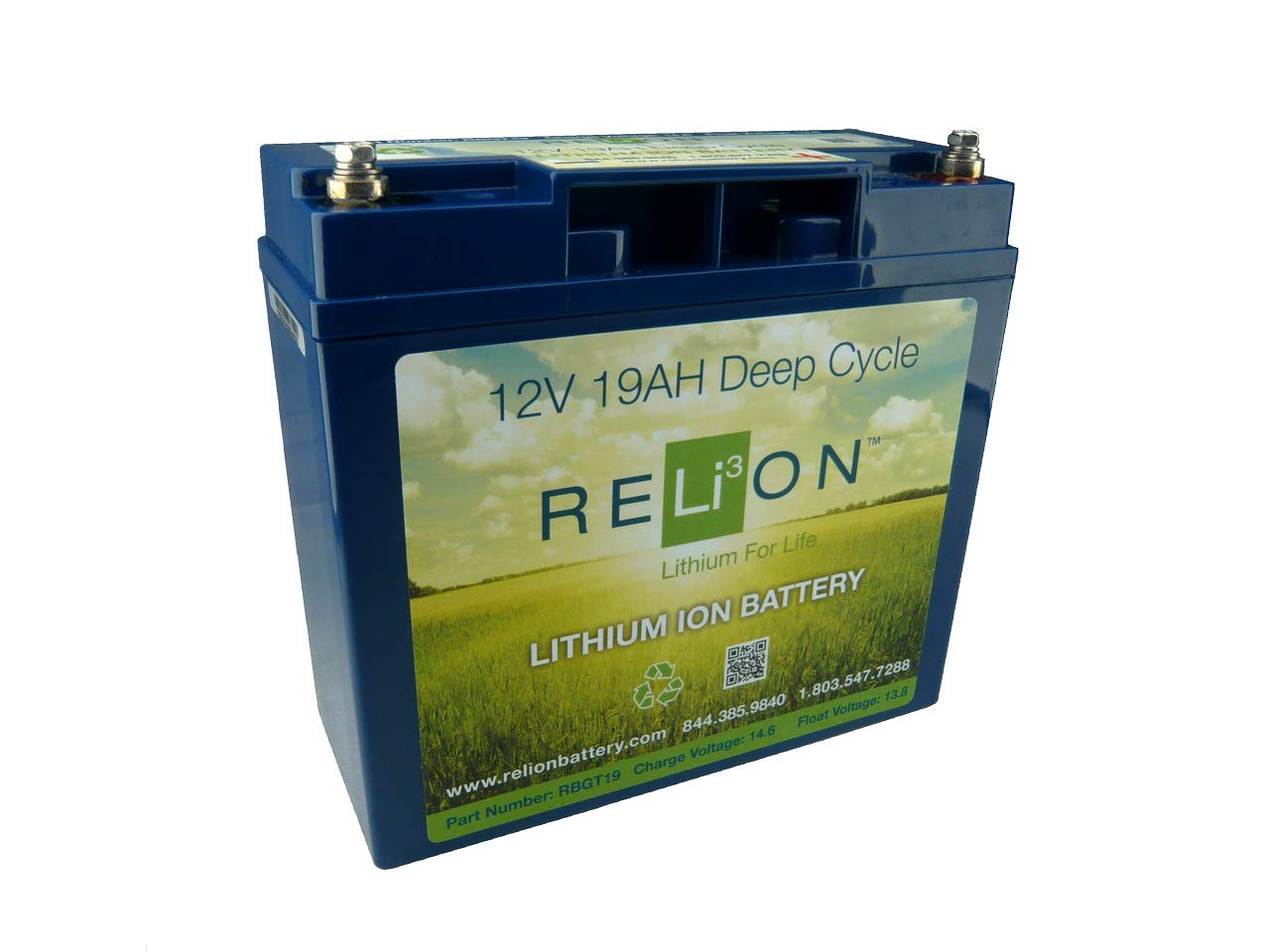 Relion RBGT-19 Golf Trolleys Battery von Relion