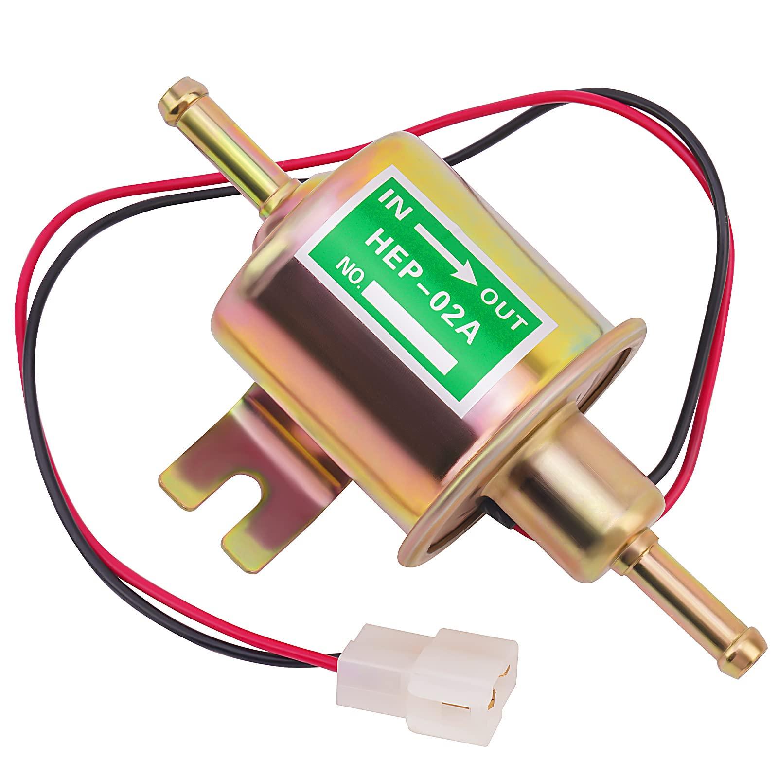 Interceptor 700//750 Road Passion 12V Elektrisch Kraftstoffpumpe Benzinpumpe Selbstansaugend f/ür CBR600F//CR250R//CBR900RR