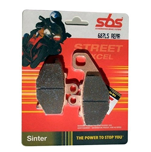 1998-2001 LS-Sinter Suzuki VL 1500 Intruder LC Bj SBS Bremsbelag HINTEN