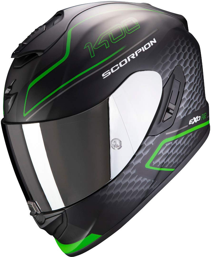 Scorpion Helm EXO-1400 AIR GALAXY MATT GREEN XXL von Scorpion