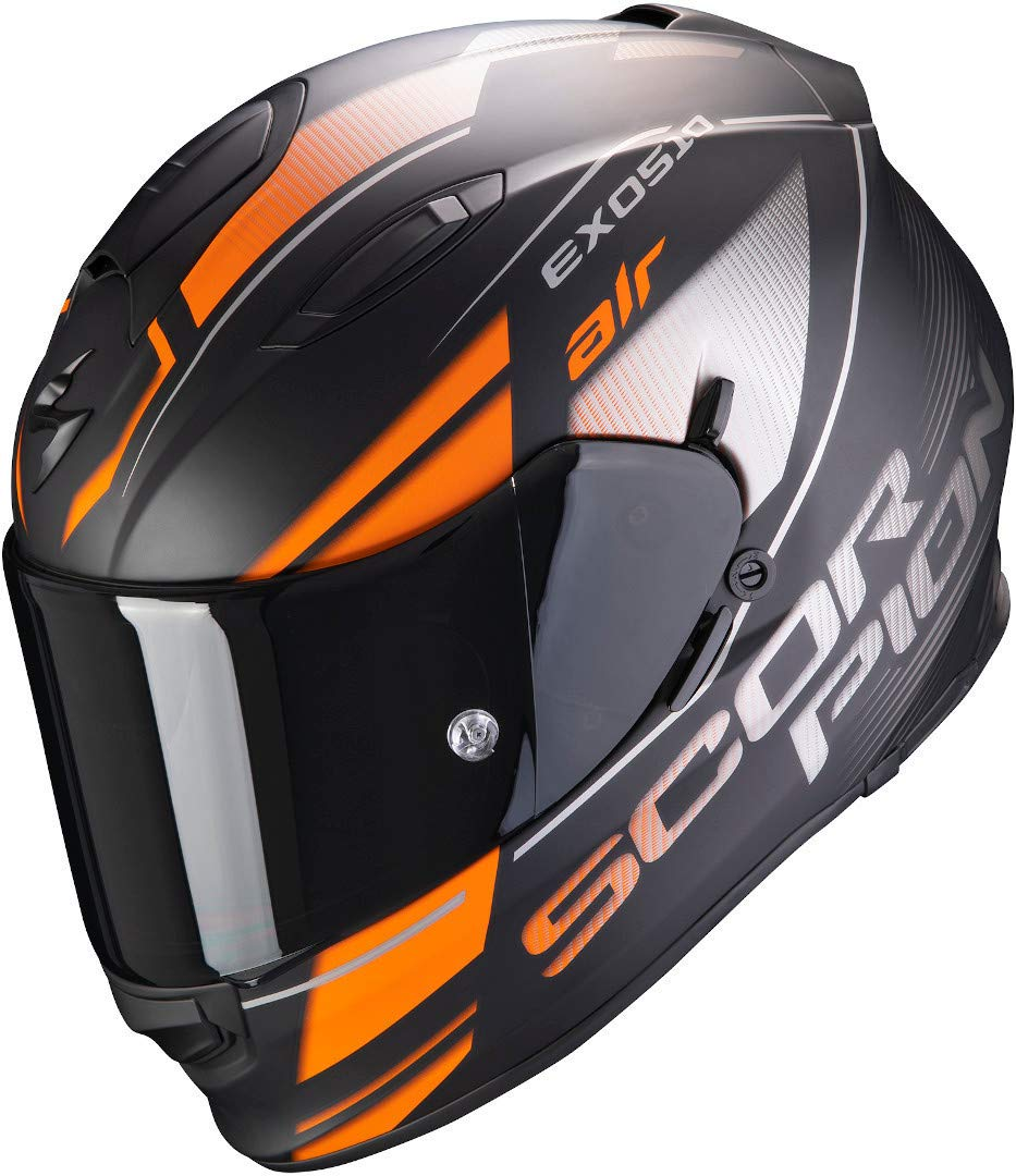 Scorpion Helm EXO-510 AIR FERRUM MATT BLACK-ORANGE-SILVER XXL von Scorpion