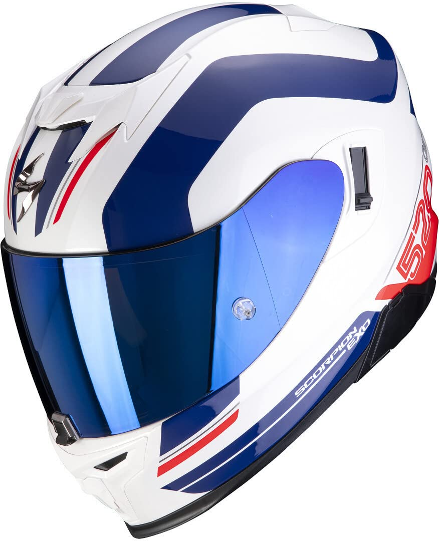 Scorpion EXO-520 Air Lemans Helm Weiß/Blau/Rot M (57/58) von Scorpion