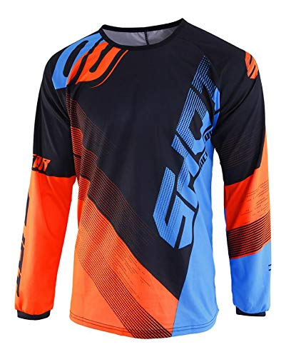 Shot Trikot Devo Ultimate, blau/neon orange, Größe XXL von Shot