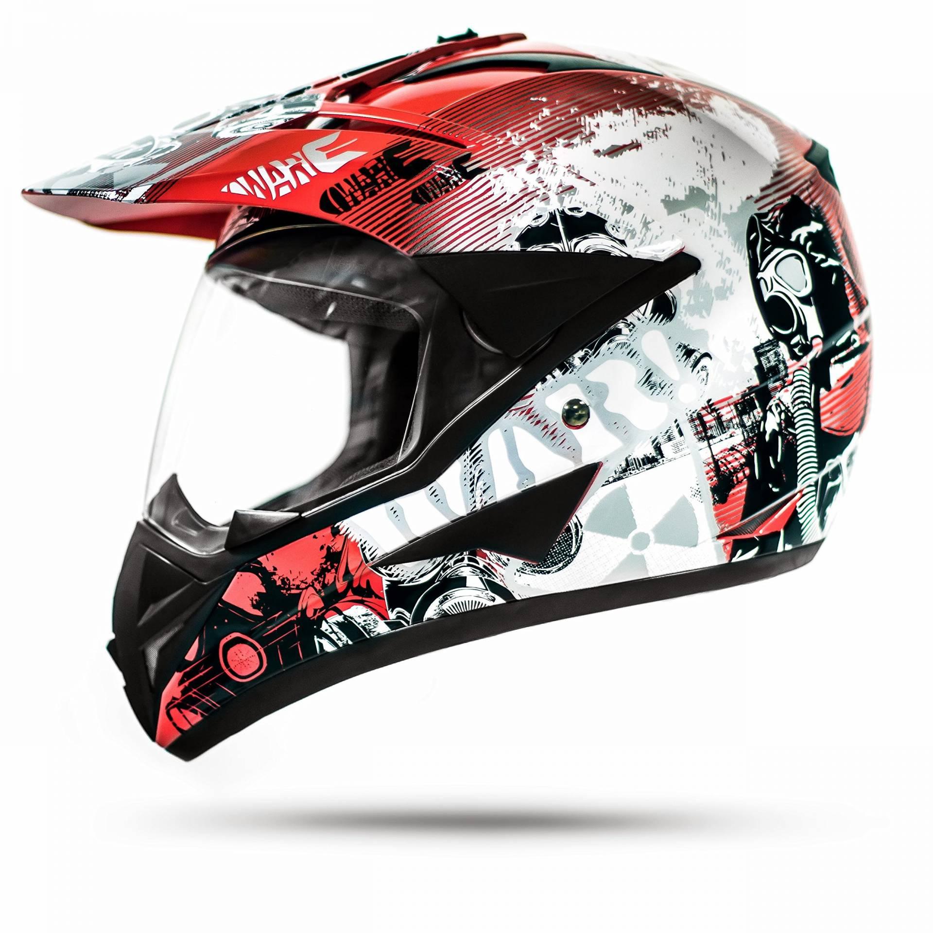ATO Moto Jet Helm LA Street Motorradhelm mit Doppelvisier System Integrierte Visiermechanik 4 punkt Bel/üftung Sicherheitsnorm ECE 2205 Gr/ö/ße S 55-56cm