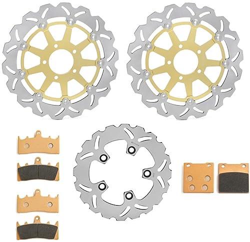 cyleto vorne und hinten Bremsbel/äge Yamaha XJ900/S xj900s XJ 900/Diversion//1995/1996/1997/1998/1999/2000/2001/2002/2003