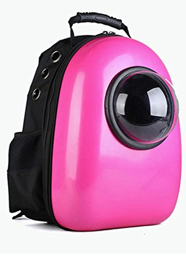 WYXIN Portable Pet Space Pack für Reisen, Wandern , rose red von WYXIN