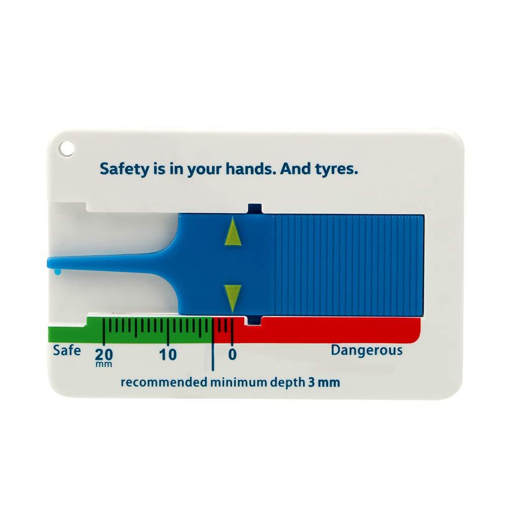 Profiltiefenmesser Reifen profil messer 0-11 mm Top Qualität NEU blau